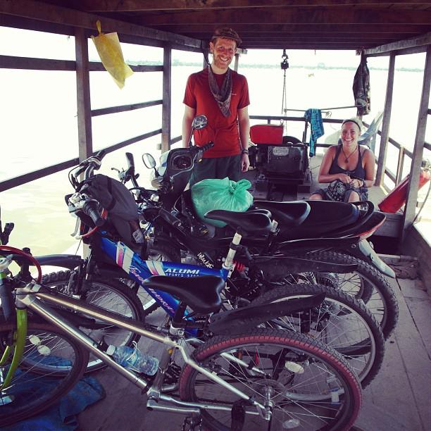 Ferry Kratie Koh Phdao Cambodia