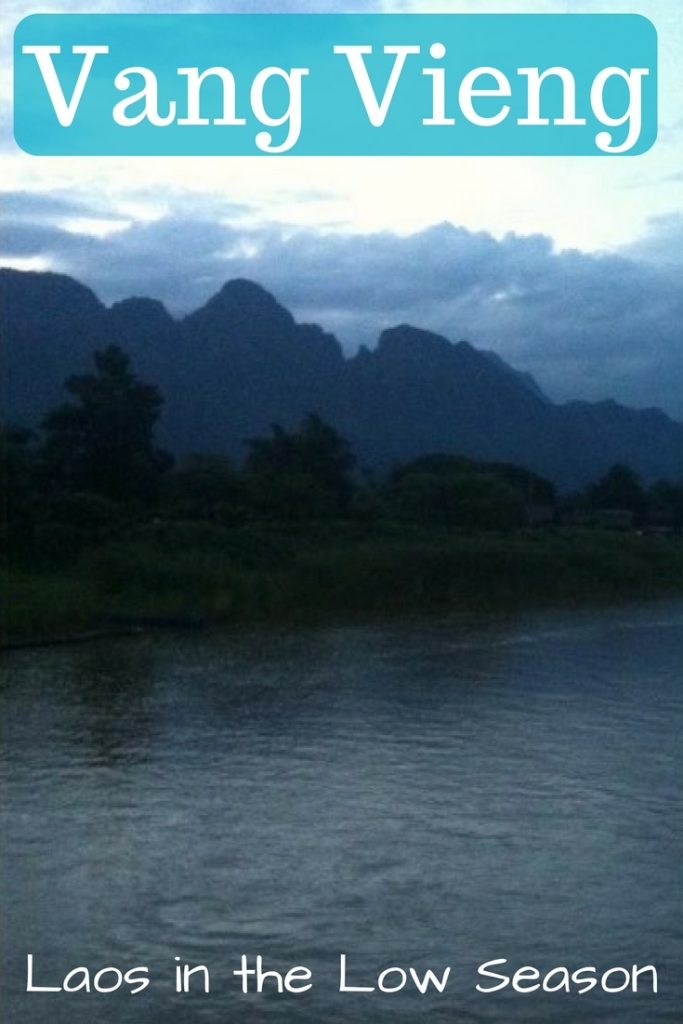 Vang Vieng Laos in the Low Season
