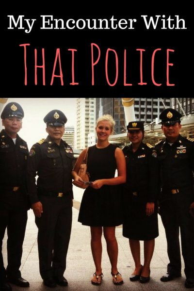 My Encounter with Thai Police