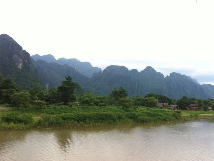 Vang Vieng Kayaking Laos June 2014