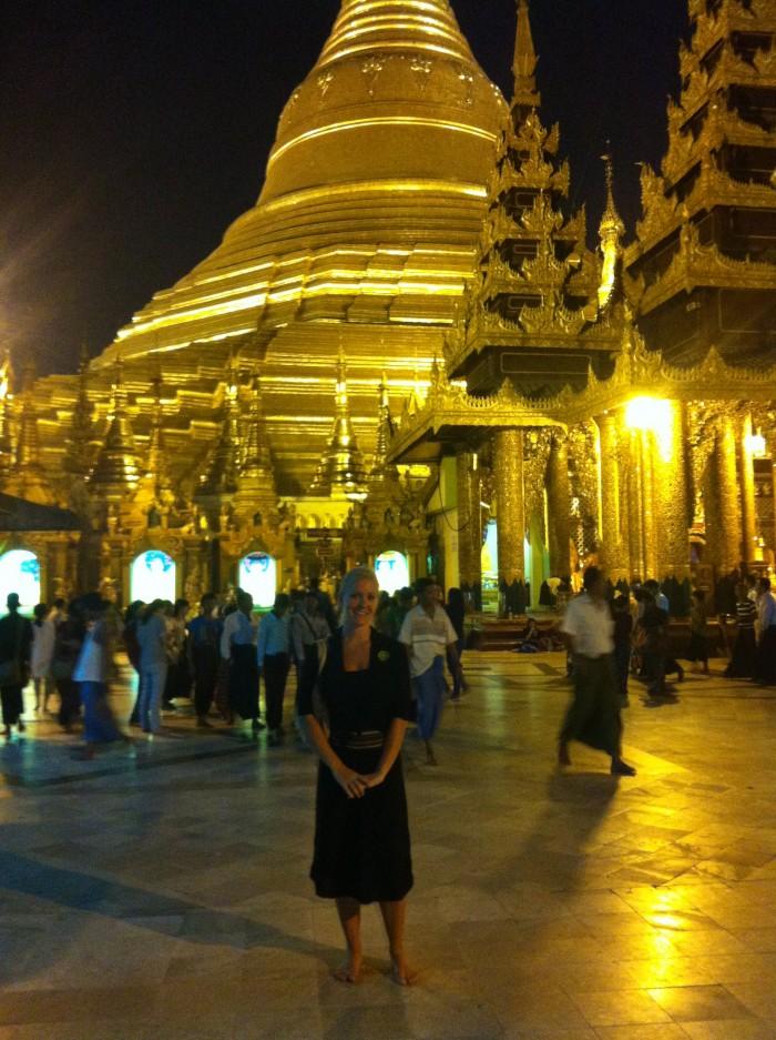 Yangon Myanmar Selfie