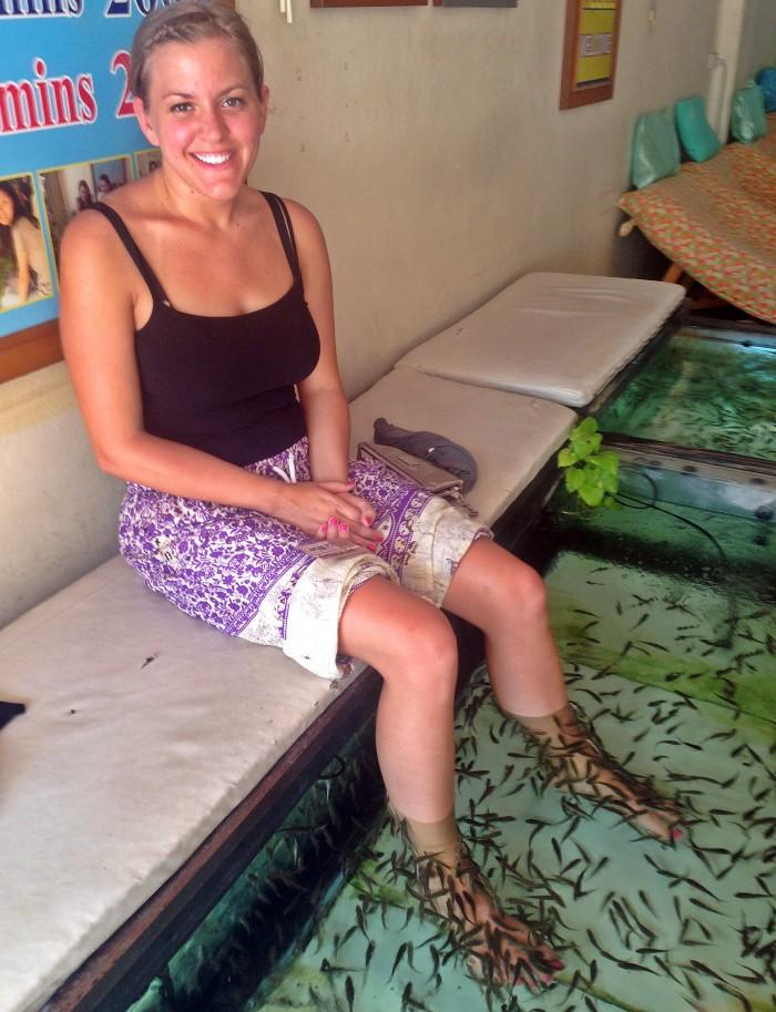Bangkok Thailand Spa Fish