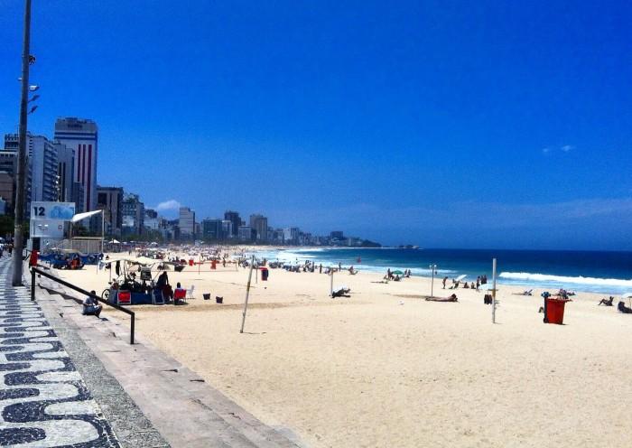 Rio de Janeiro Brazil Beach Ipanema