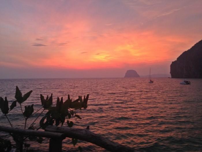 Koh Mook Thailand Sunset