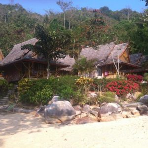 Awesome bungalow on the beach, but not in my everyday budget