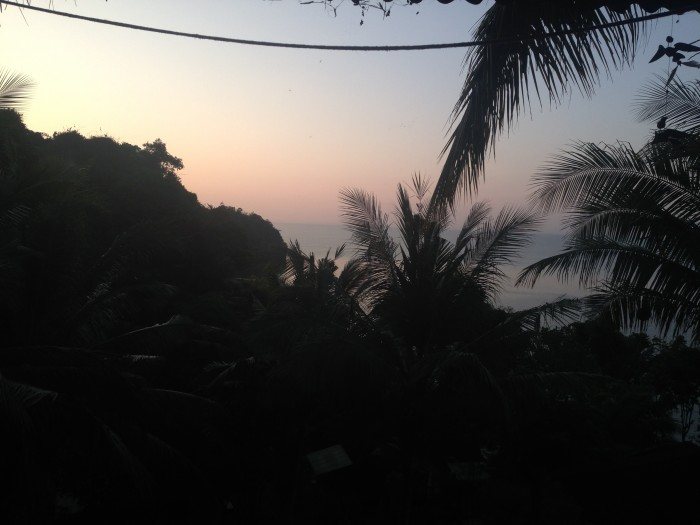 Railay Thailand Garden View Sunset