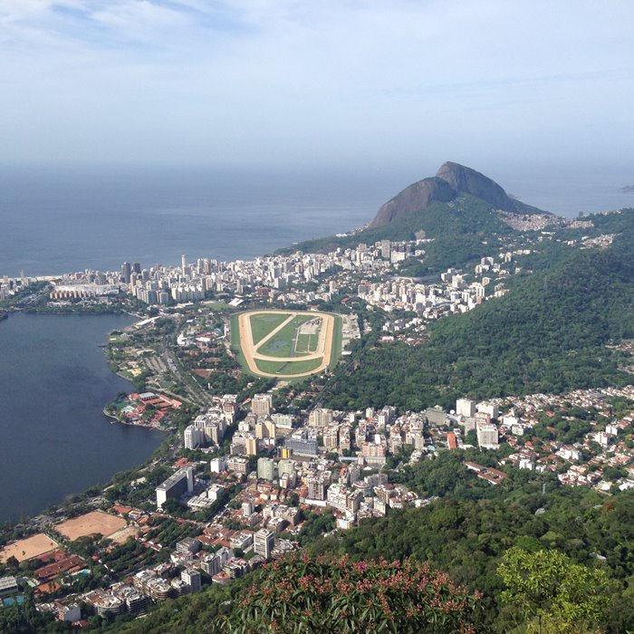Rio Brazil View Christo Redentor Christ the Redeemer Corcovado