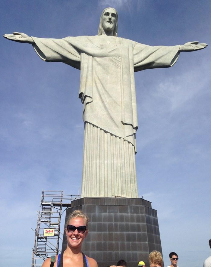 Selfie Rio Brazil Corcovado