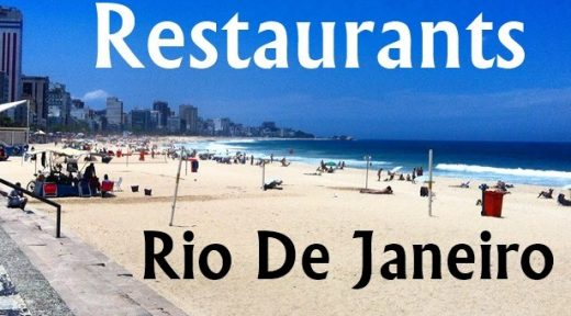 Restaurants of Rio de Janeiro Brazil
