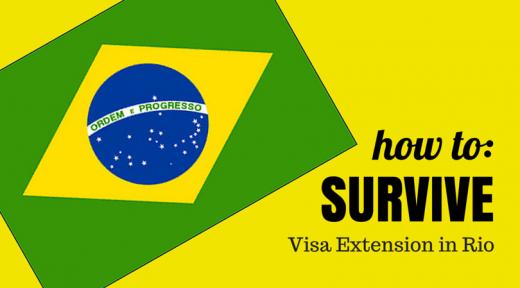Extend Brazil Tourist Visa