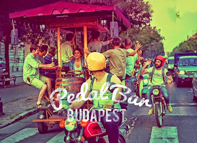 Beerbike Budapest, the best Budapest Activities