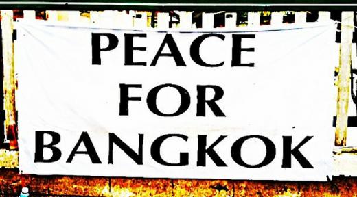 Bangkok Shutdown Peace for Bangkok