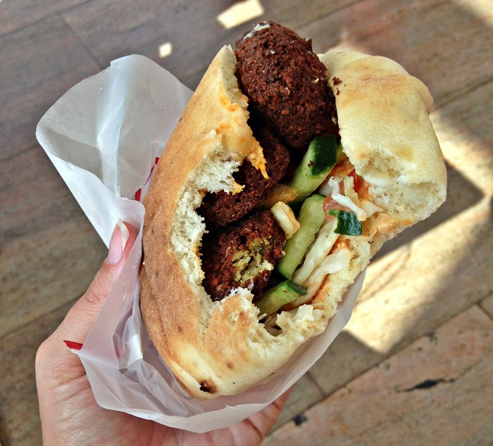 Pita Falafel Israel