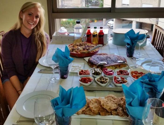 Israeli Dinner Israel Haifa