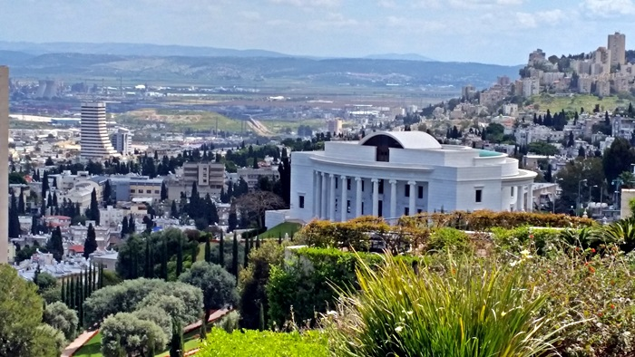 Baha'i Hanging Gardens of Haifa Israel