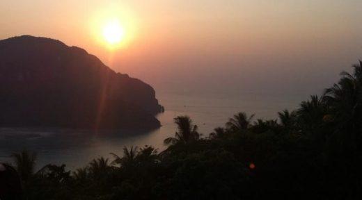 Koh Phi Phi Thailand Sunset