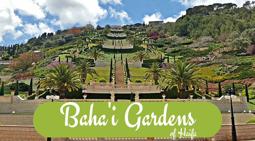 Beautiful Bahai Gardens of Haifa