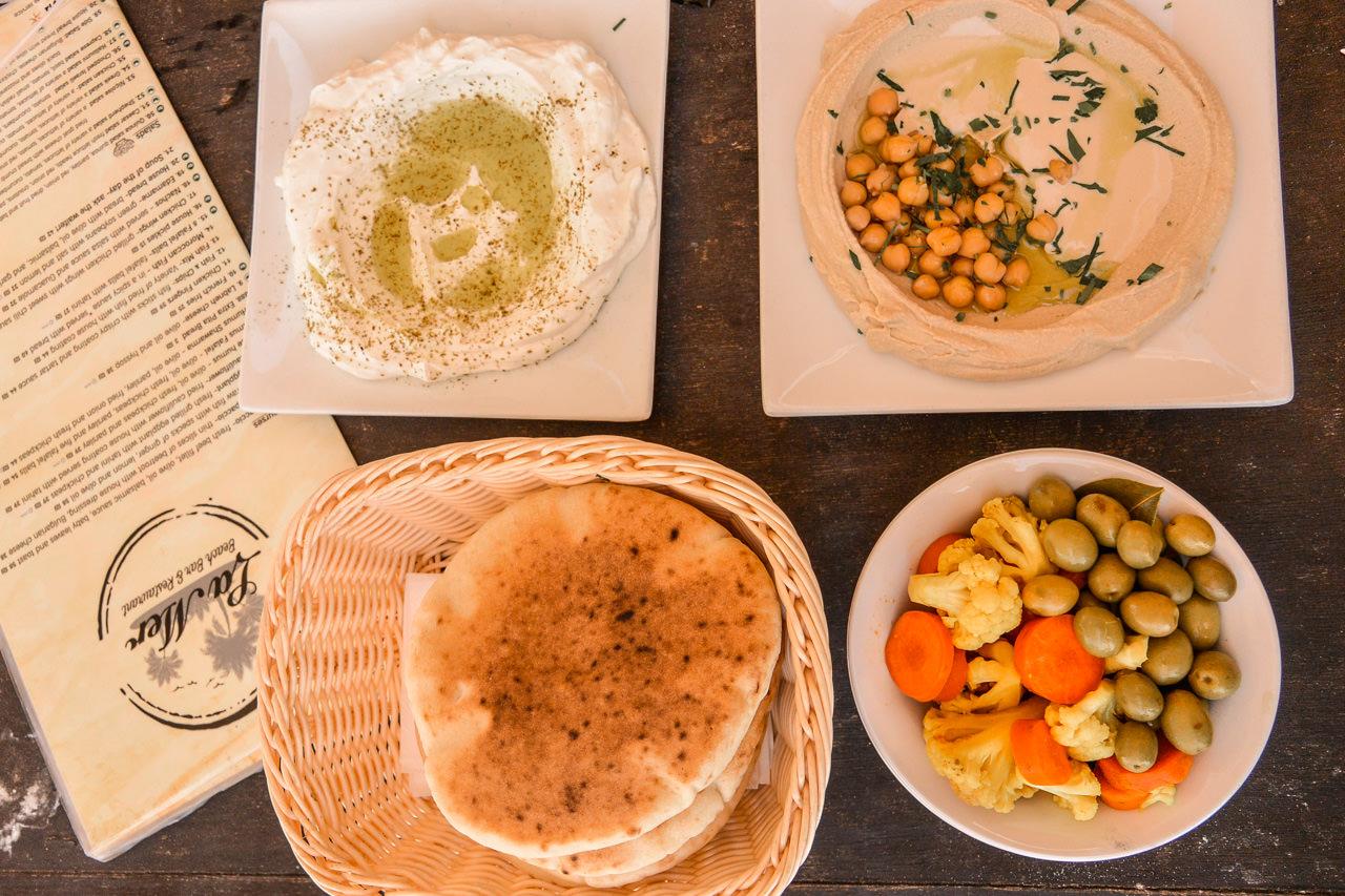Israeli food in Tel Aviv