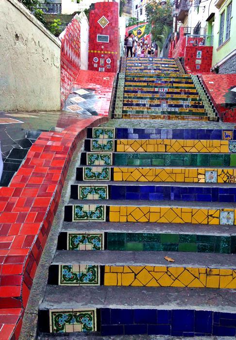 Escadaria Selaron : The Selaron Stairs