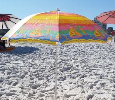 Arraial do Cabo scam umbrella