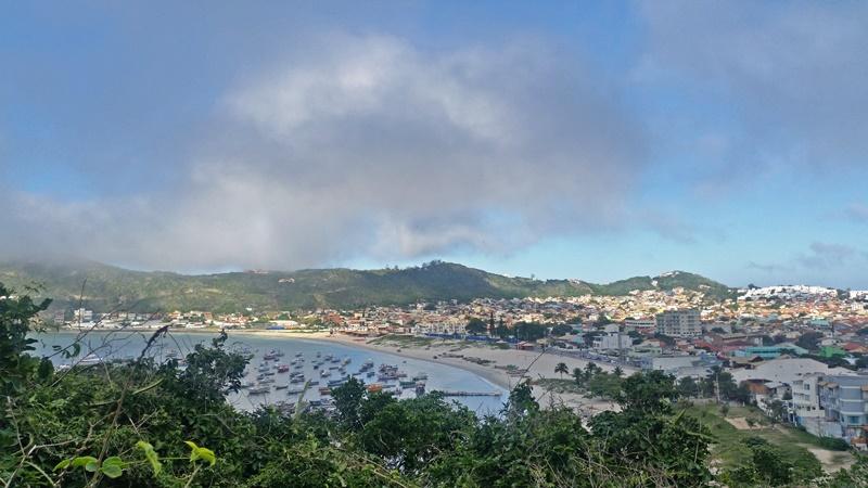 Marina and Town Praia dos Anjos