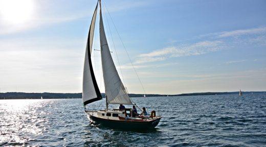 Nauti-Cat Traverse City Boat Cruise Sunset