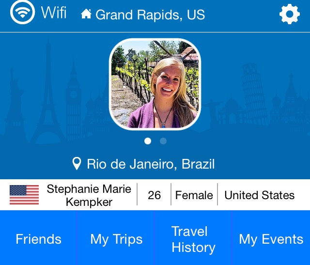 Outbound - An app for meeting people while traveling and an app to find people near you