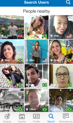 Outbound - An App for Connecting Travelers and Making Friends While Traveling