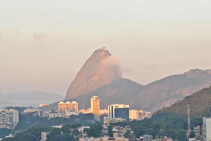 Rio 180 Hotel Review Santa Teresa Pao de Acucar View Santa Teresa