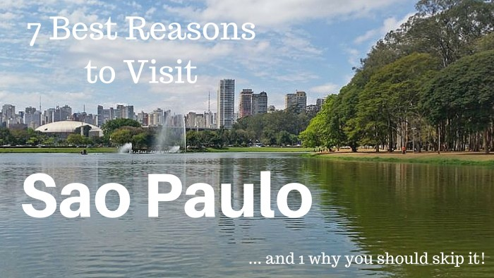 7 Best Reasons to Visit Sao Paulo (And Just ONE Reason to Skip It!)