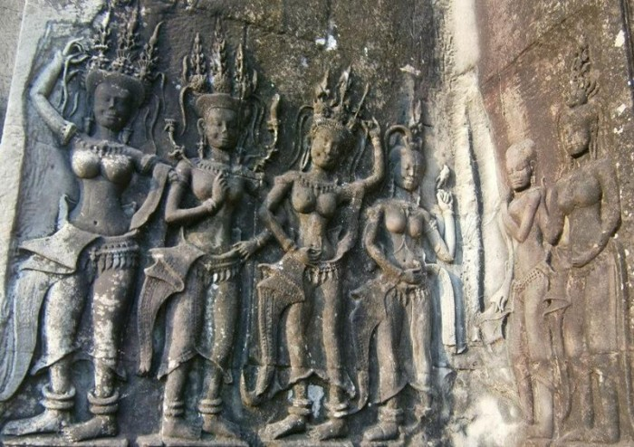 Angkor Wat Carving 2