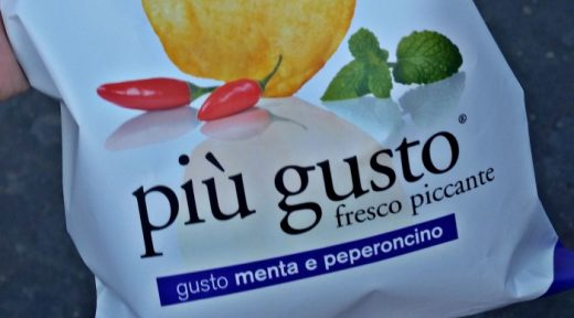 Pepper and Mint Chips Piu Gusto Italy