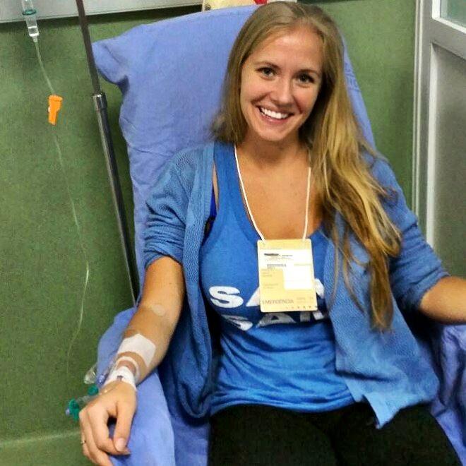 Hospital Overseas Health Scare Rio de Janeiro