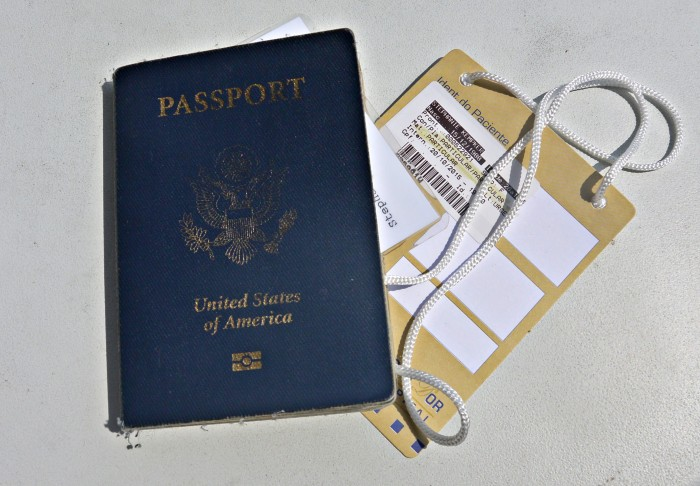 Overseas Emergency Room Badge and Passport