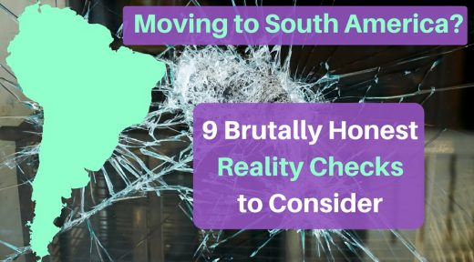 Moving to South America-
