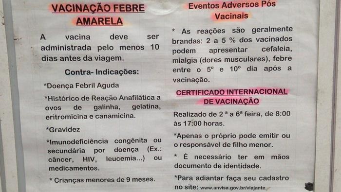 Posto de Saude in Rio de Janeiro for yellow fever vaccine (2)