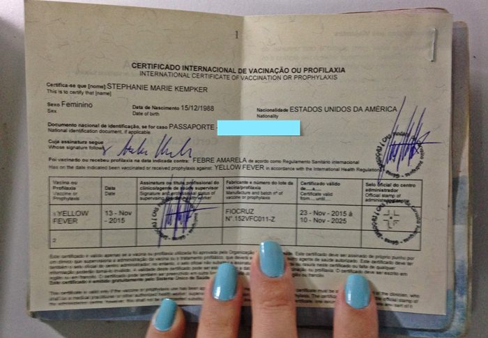 Get Your Yellow Fever Vaccine For Free At Rio De Janeiros Posto De