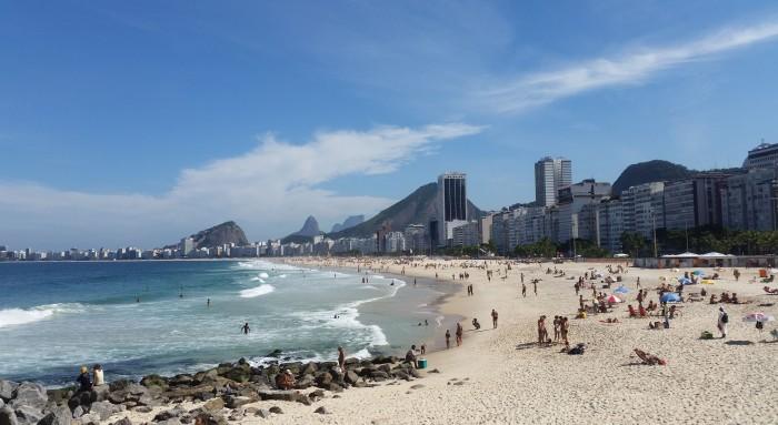 Rio de Janeiro Leme Beach