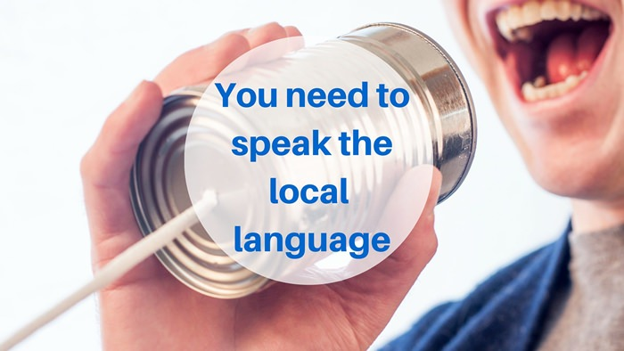 Moving to South America - You need to speak the local language