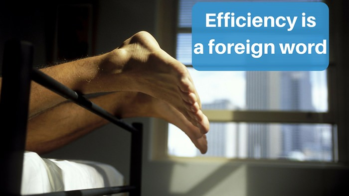 Moving to South America - efficiency is a foreign word