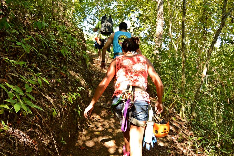 Ziplining, Canyoning, and Waterfall Rappelling Jaco Costa Rica