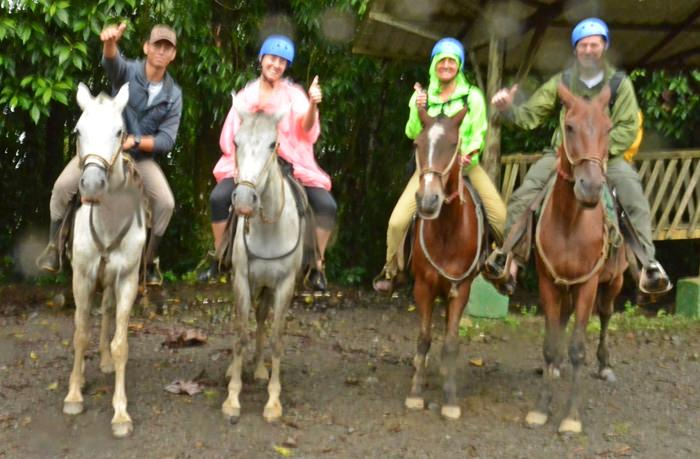 Horseback Ride La Fortuna Waterfall