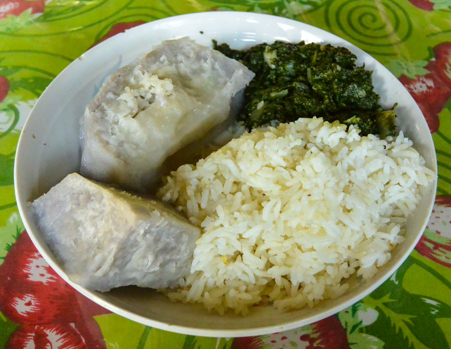 Traditional Ngobe Meal