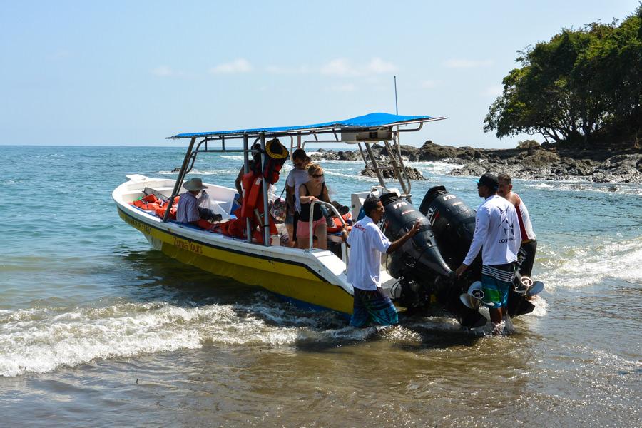 Zuma Tours Jaco to Montezuma Boat-16