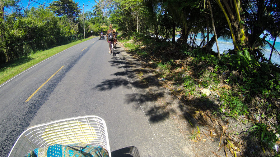 Bluff Beach Bike Ride Bocas Del Toro