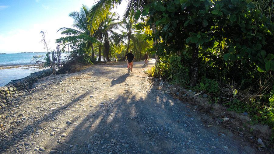 Bluff Beach Bike Ride Bocas Del Toro