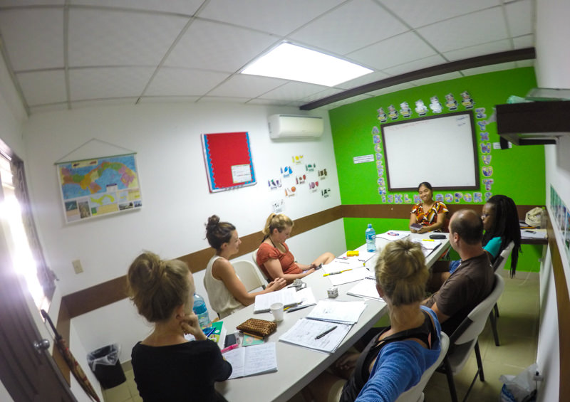Studying Spanish in Bocas del Toro with Habla Ya