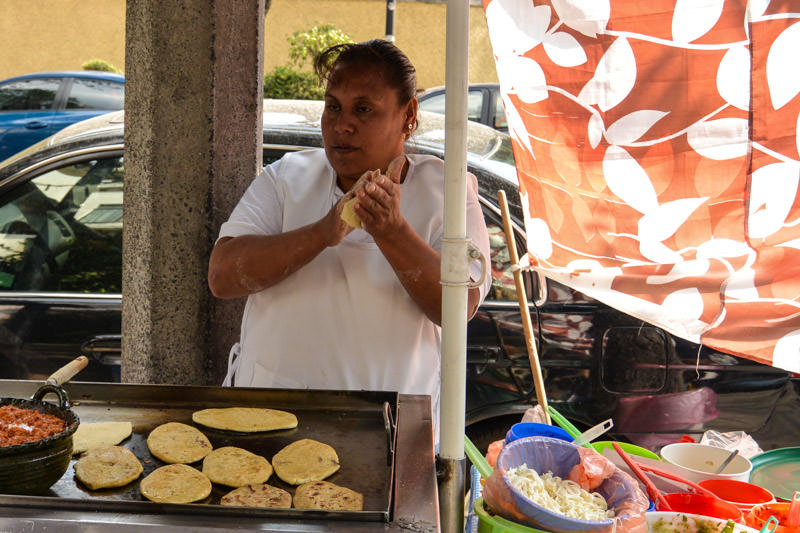 Eat Mexico Street Food Tour: Tlacoyo