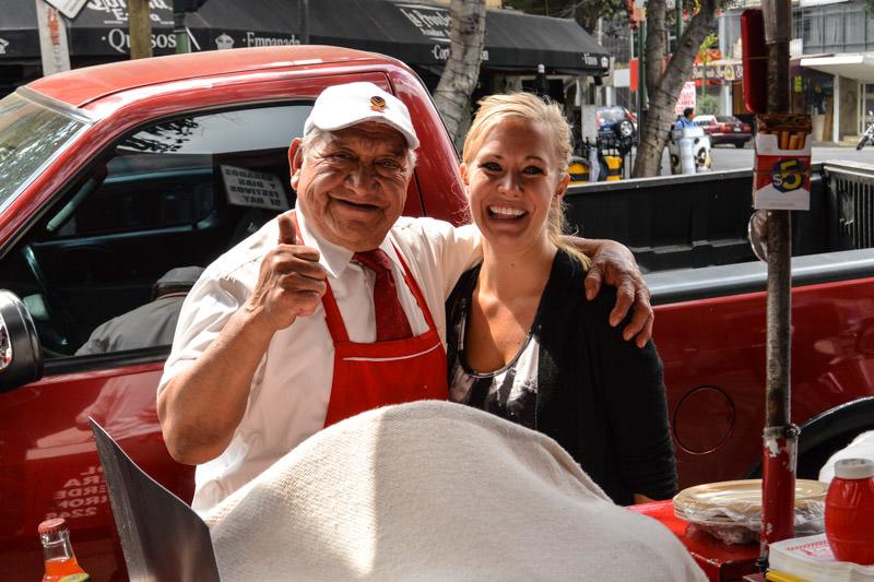 Eat Mexico Street Food Tour: Tacos de Canasta La Abuela