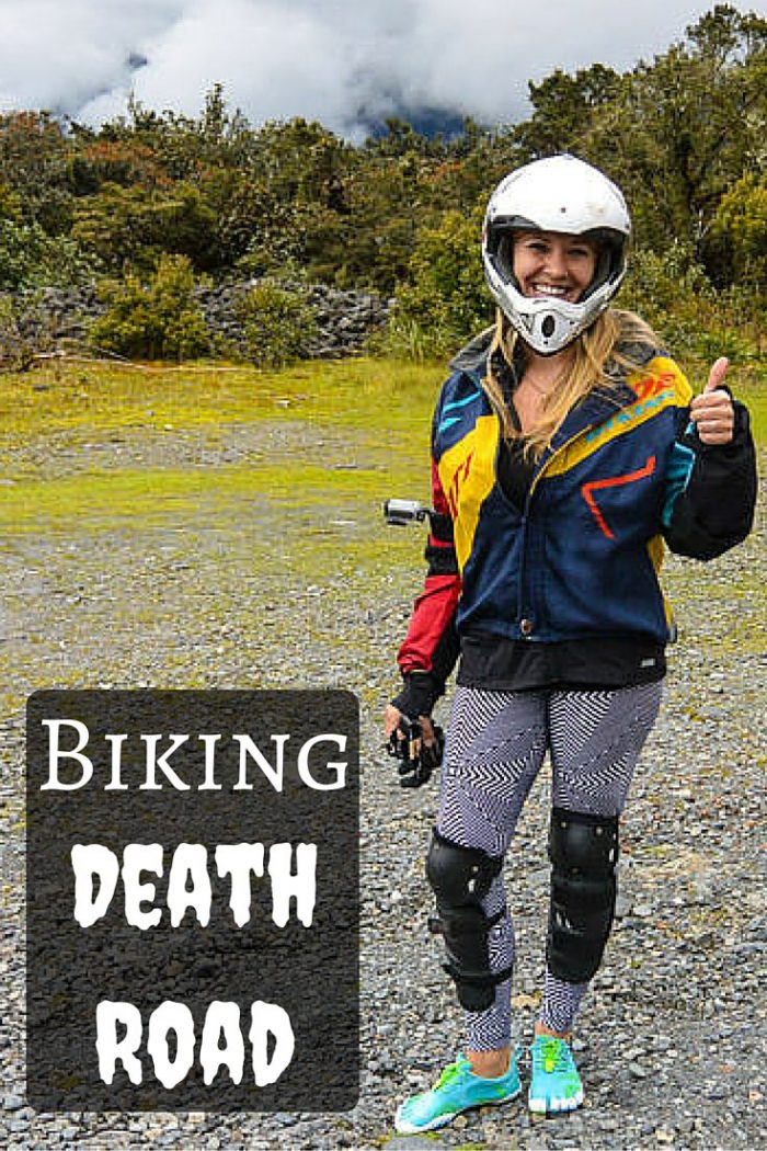 Biking Death Road La Paz, Bolivia2